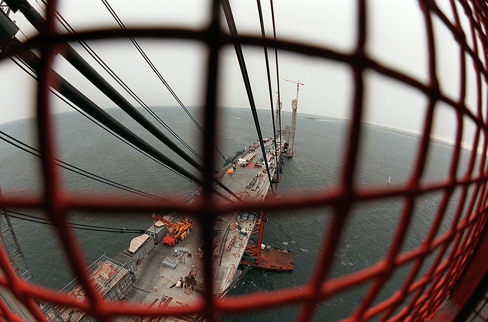 Øresundsbroen byggeri