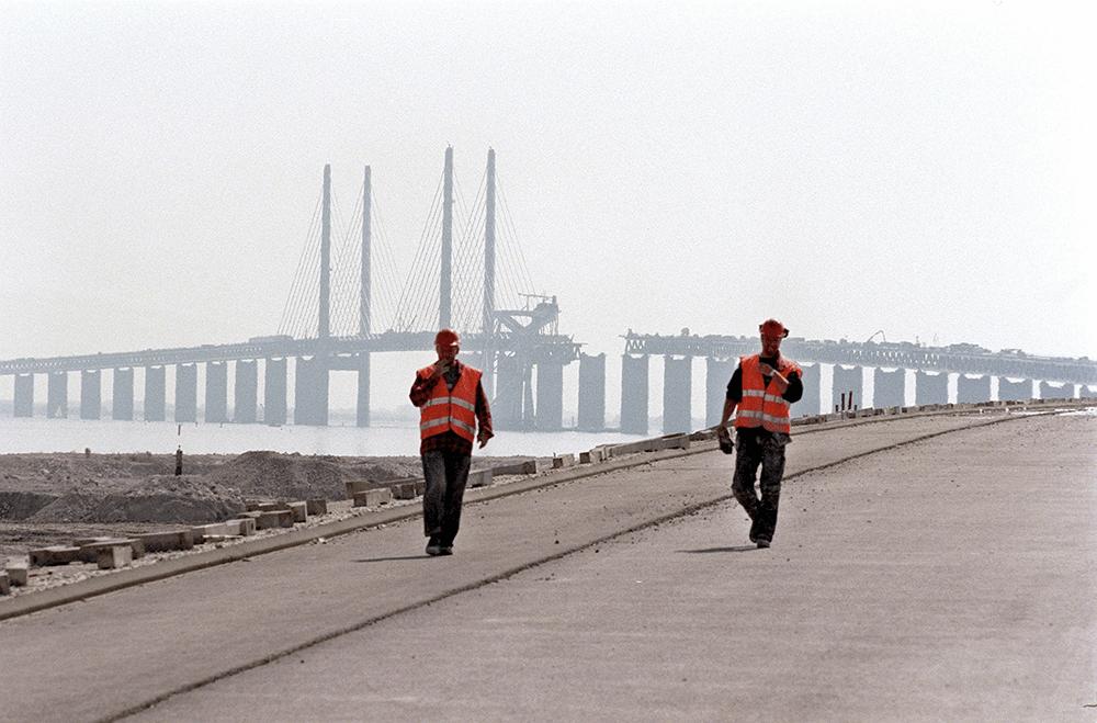 Øresundsbroen sidste brofag