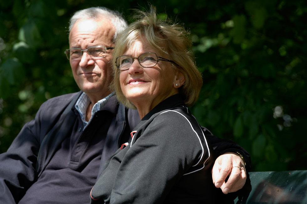 Pia Kjærsgaard og hendes mand