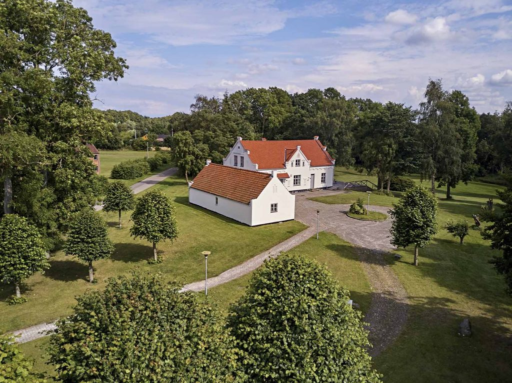 Dronefoto Bymosehegn