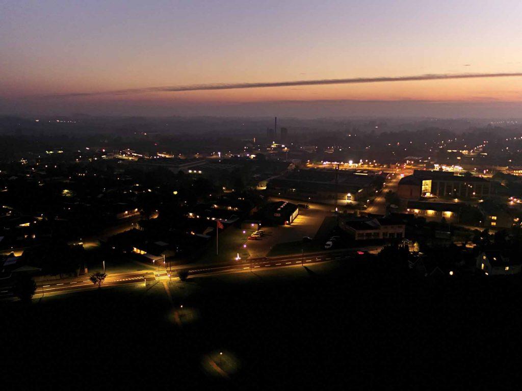Dronefoto Helsinge