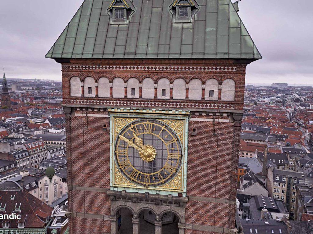 Københavns Rådhus ur
