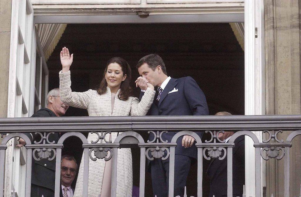 Kronprins Frederik forlovelse med Mary Donaldson