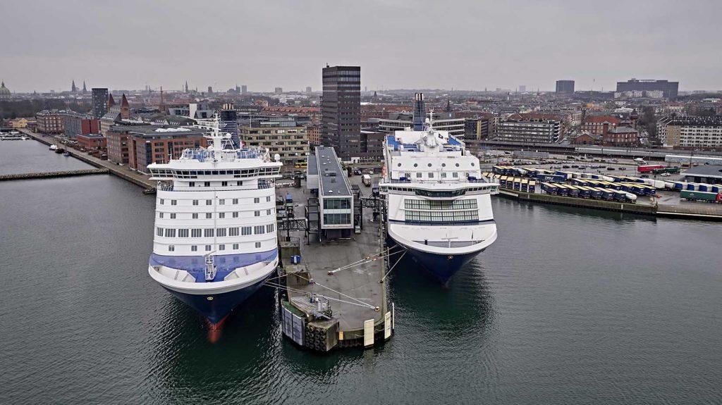 DFDS i Nordhavnen