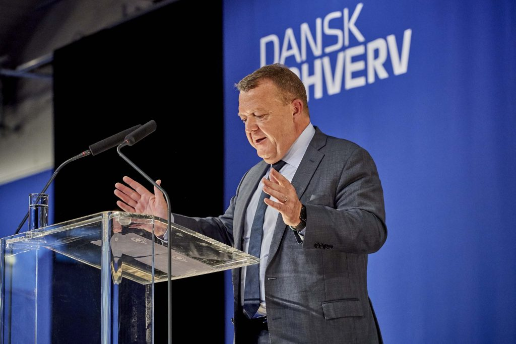Lars Løkke Dansk Erhvervs Årsdag 2018