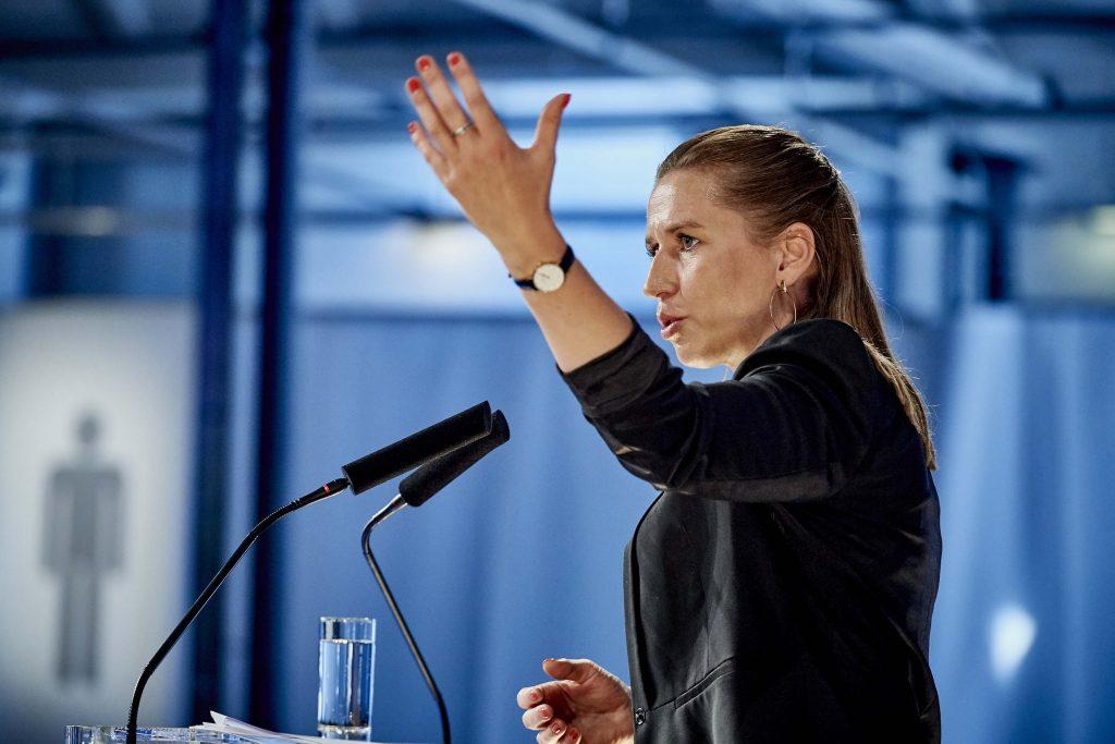 Mette Frederiksen Dansk Erhvervs Årsdag 2018