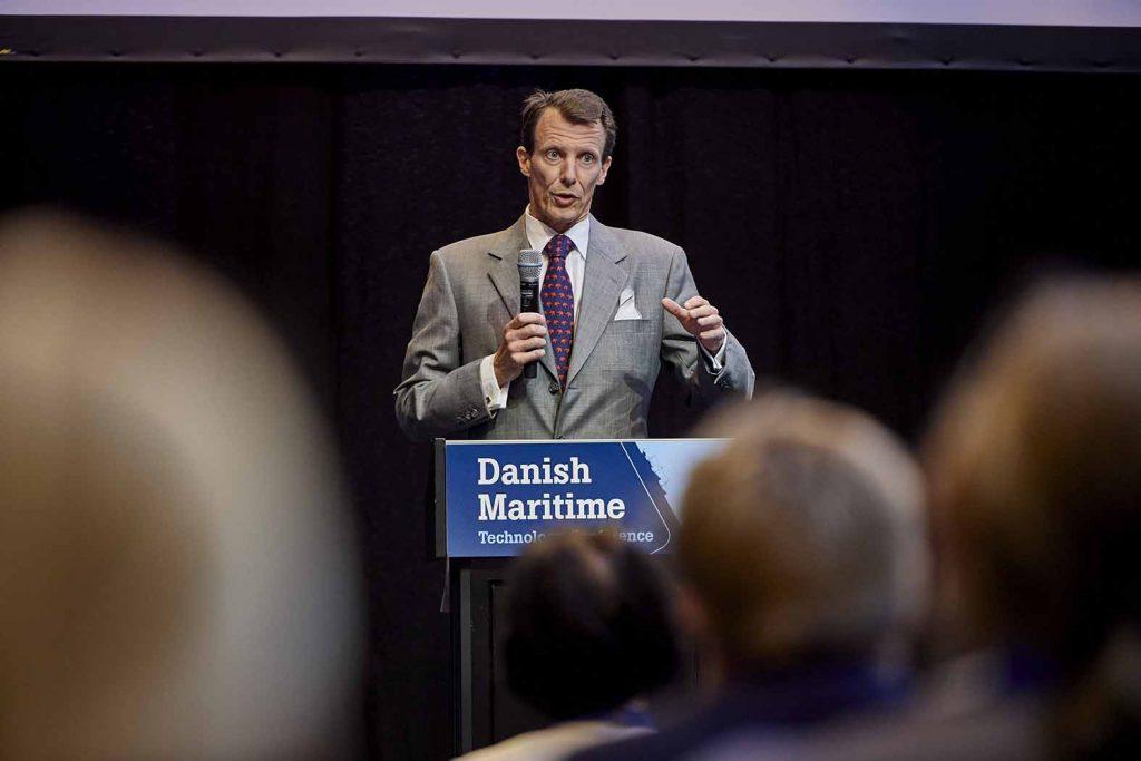 HKH Prins Joachim på Maritime Days 2018