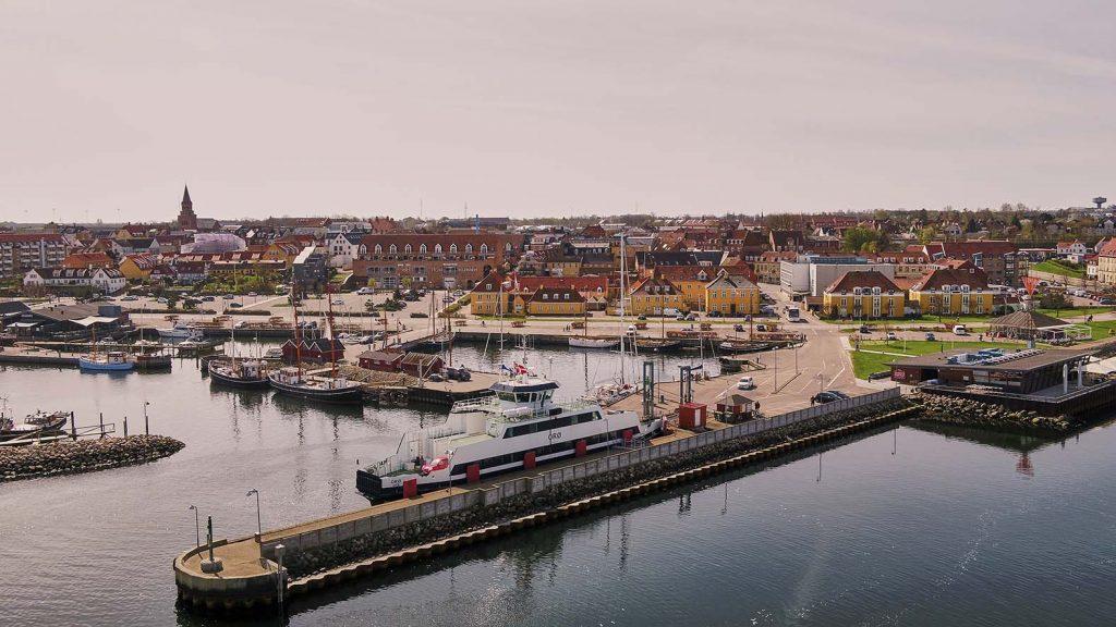 Orø færgen i Holbæk