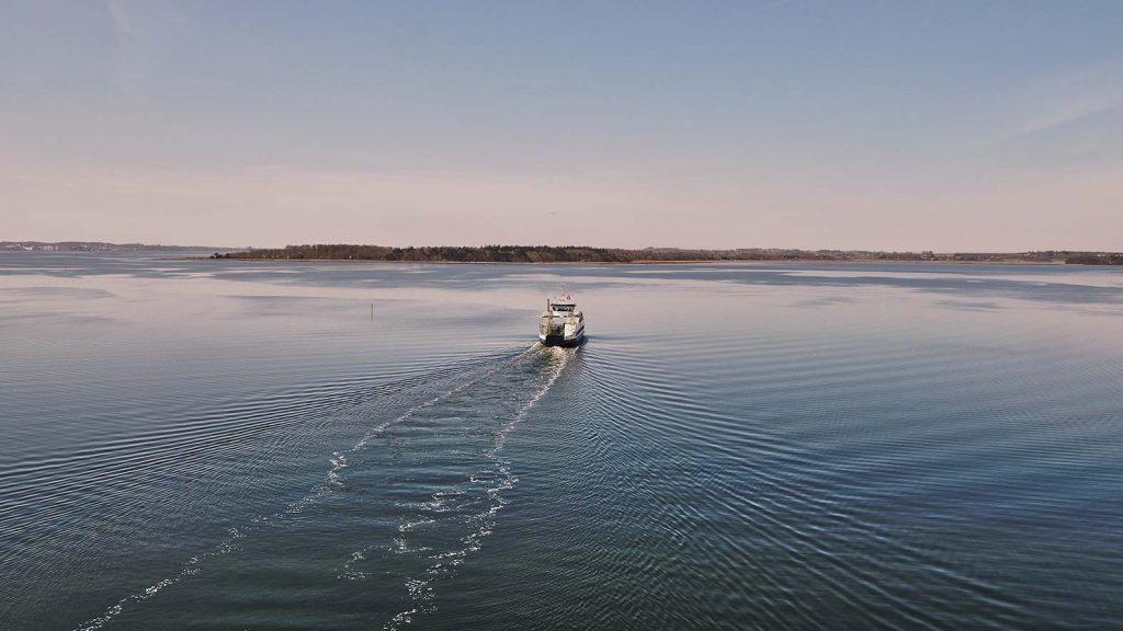 Orø færgen fra Holbæk
