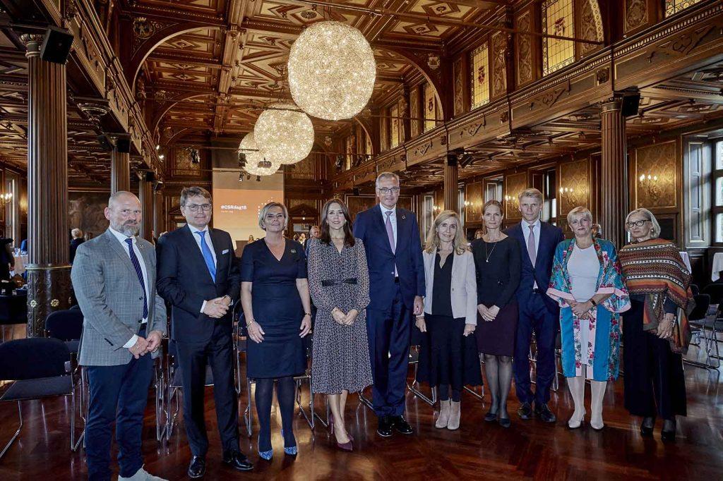 CSR konferencen 2018 og H.K.H. Kronprinsessen