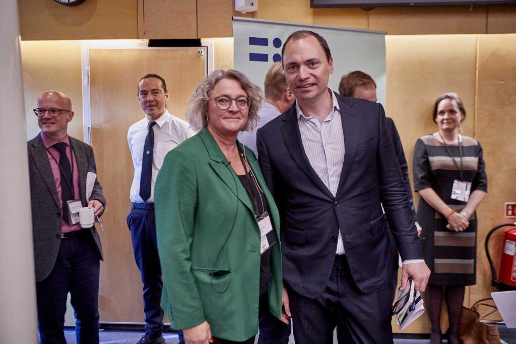 Anne Steffensen og Tommy Ahlers Danske Rederier