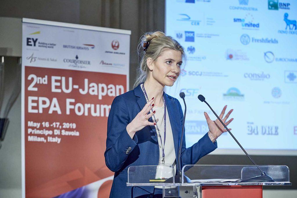 Sofie Nordstrøm EU Japan i Milano
