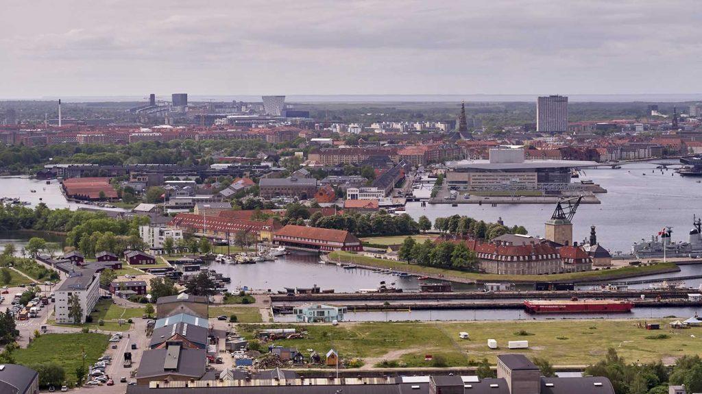 Københavns Havn Dronefoto