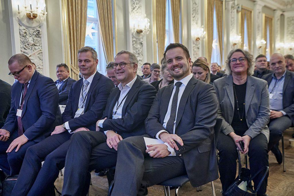 Det Blå Danmark og erhvervsministeren