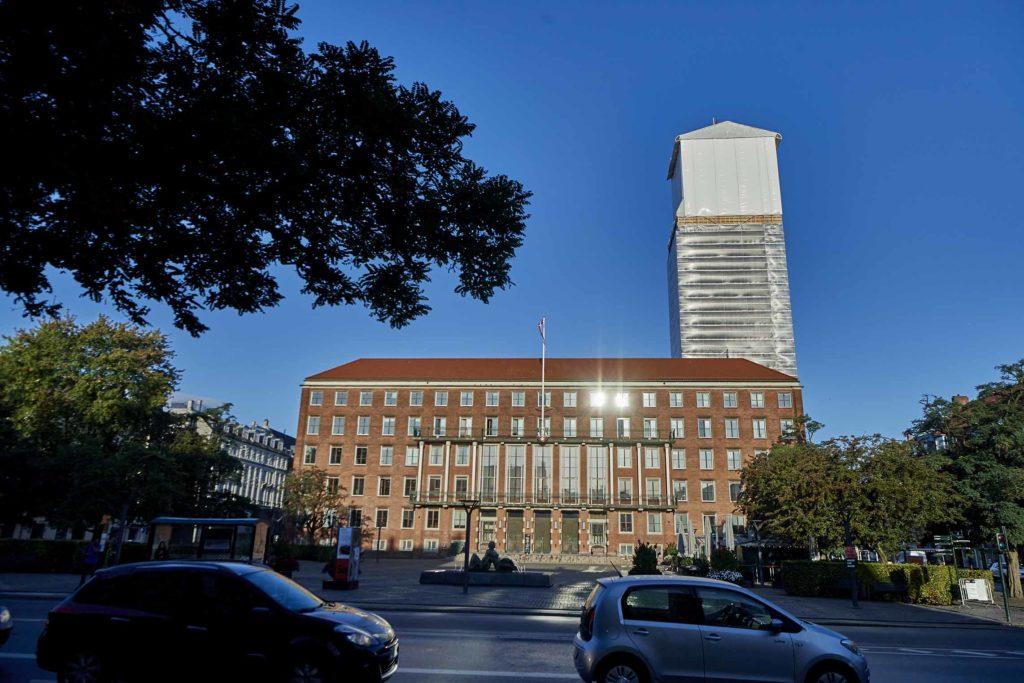 Frederiksberg Rådhus Tårnet renovering