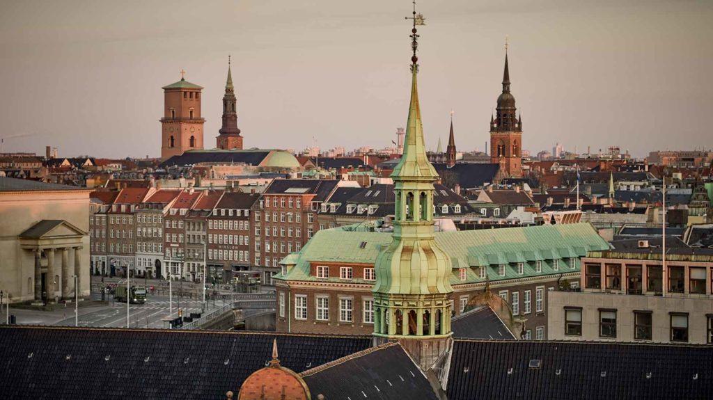 Københavns tårne Dronefoto