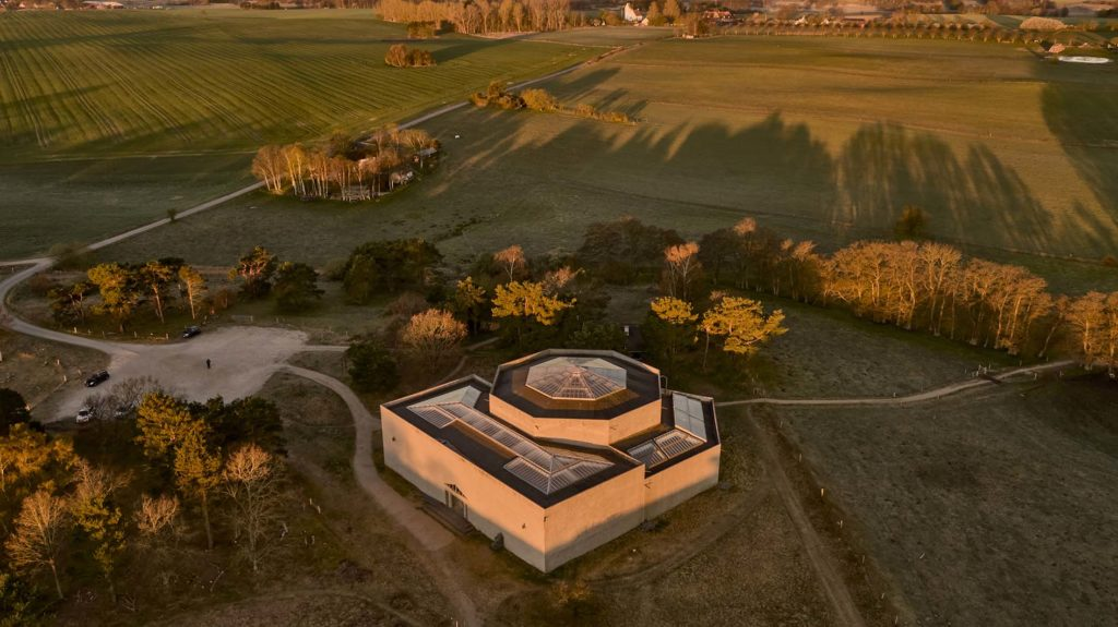 Rudolph Tegners Museum Dronefoto