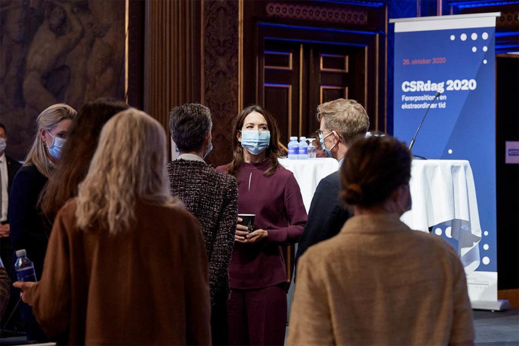Samfundssind HKK Kronprinsessen CSR på Børsen