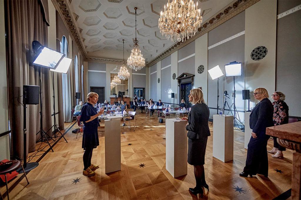 Corona diskussion i Danske Rederier