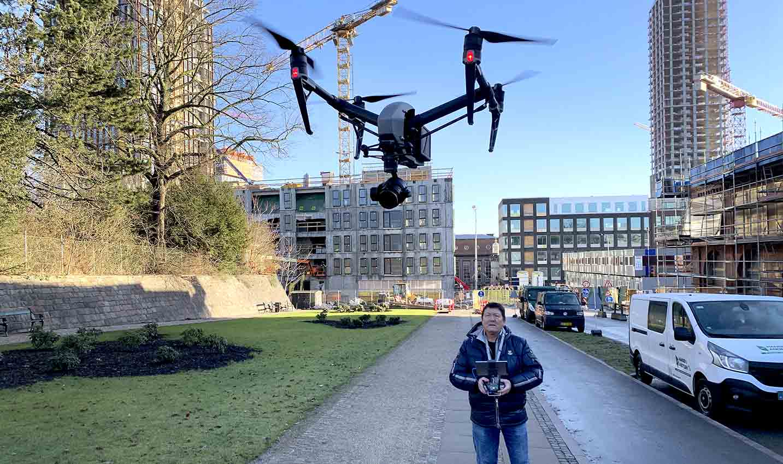Dronepilot Carsten Lundager