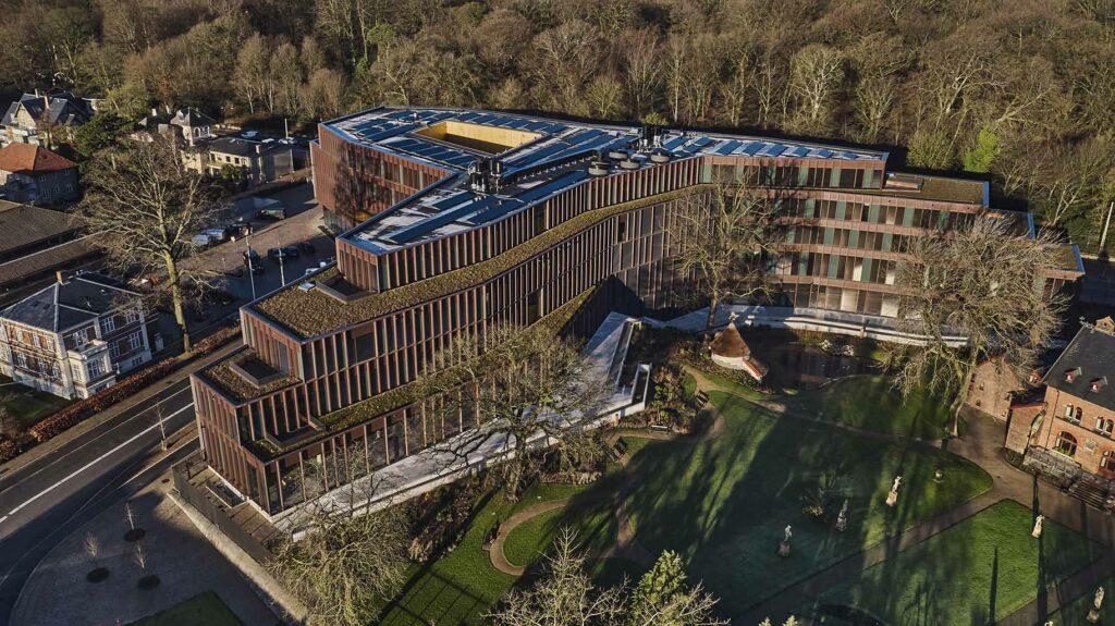 Carlsbergs nye hovedsæde dronefoto